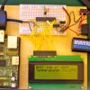 Photo of Nerdkit mounted on a board with a Raspberry Pi