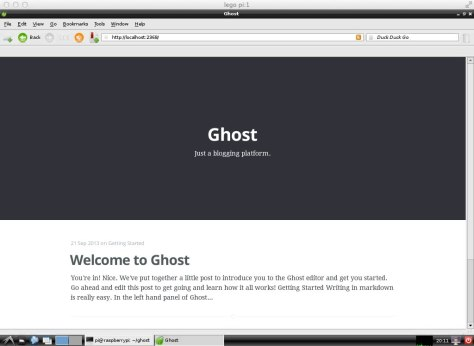 ghostraspberrypi