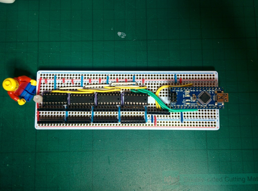 Shift register without the LEDs