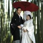 着物と和傘