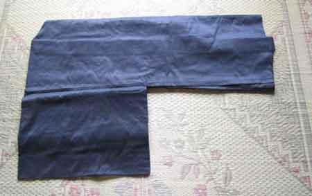 羽織のたたみ方 その3
