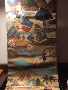 西陣の名門機屋【白綾苑大庭】の袋帯 リサイクルの画像