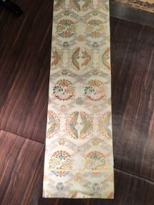 川島袋帯唐織古典柄全体