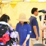 着物の着付けと教室の池田の代表がテレビ取材を受けるの巻