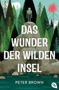 Das Wunder der wilden Insel von Peter Brown, Cover
