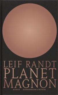 Leif Randt, Planet Magnon Cover
