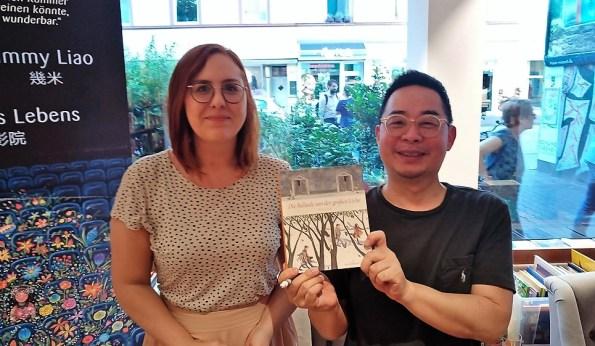 Jimmy Liao, Lesung in Frankfurt/Main in der Buchhandlung Weltenleser