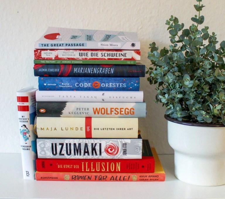 Vom Regen in die Traufe: Lesemonat Februar