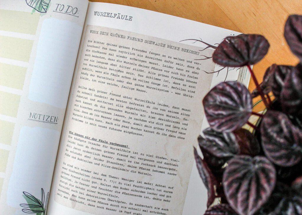 Julia Ruda, Mein Pflanzen-Journal