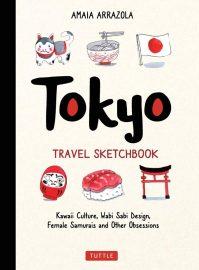 Amaia Arrazola, Tokyo Travel Sketchbook Cover