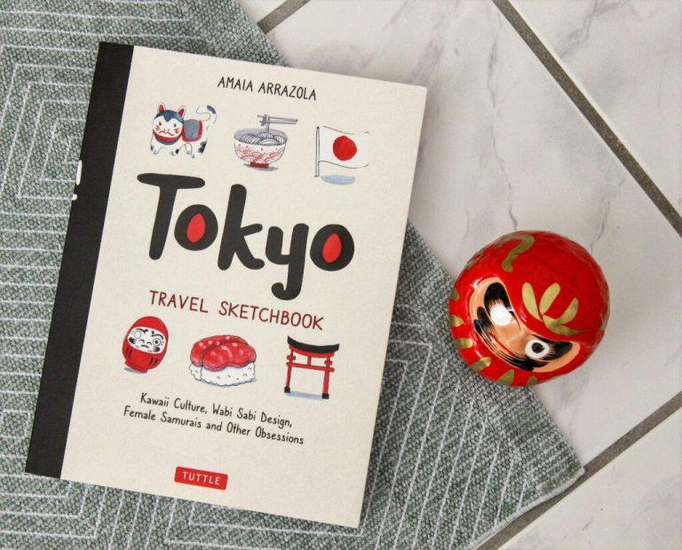 Auf nach Japan mit dem Tokyo Travel Sketchbook