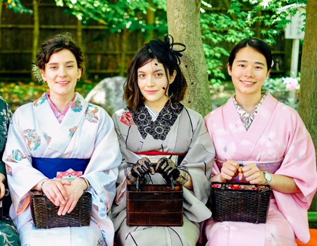 Kamakura kanon kimono