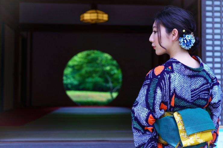 浴衣美人鎌倉の夏