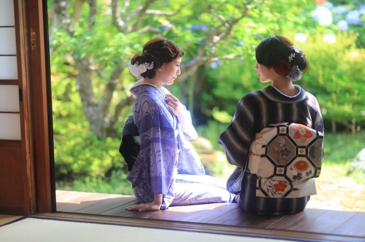 鎌倉 浴衣 夏着物
