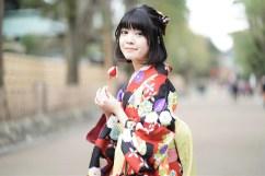 鎌倉花のん袴スタイル