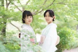 鎌倉花のん 夏のレース着物