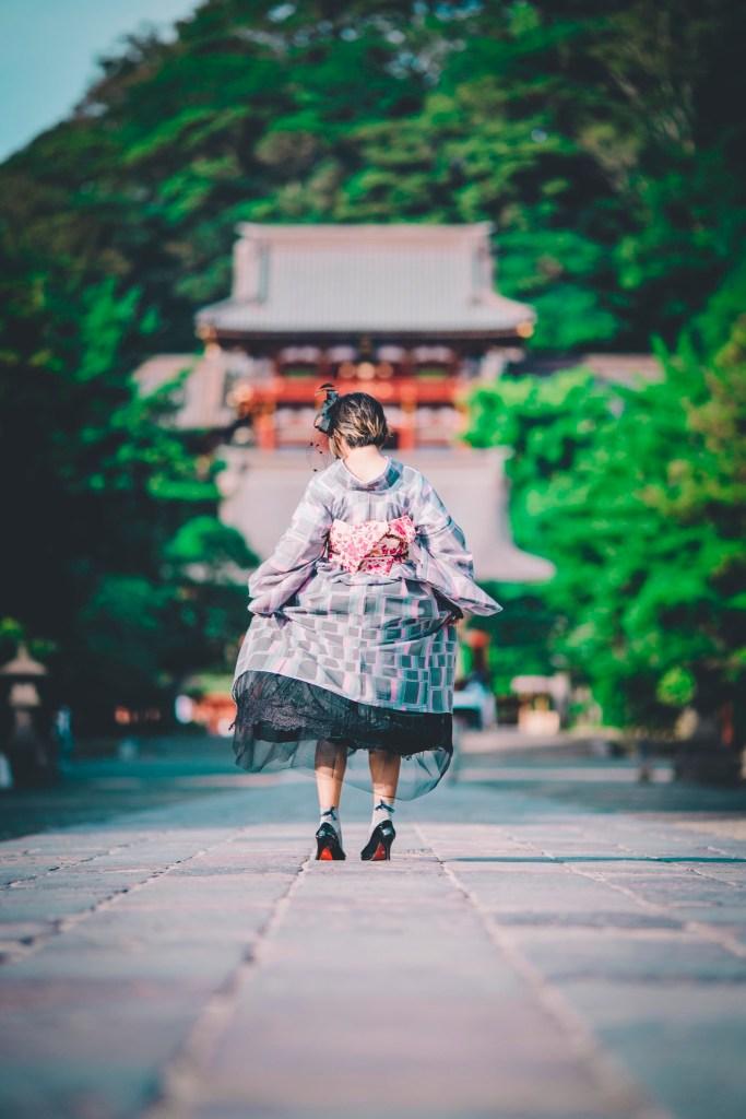 鎌倉着物レンタル花のん 秋のコーデ
