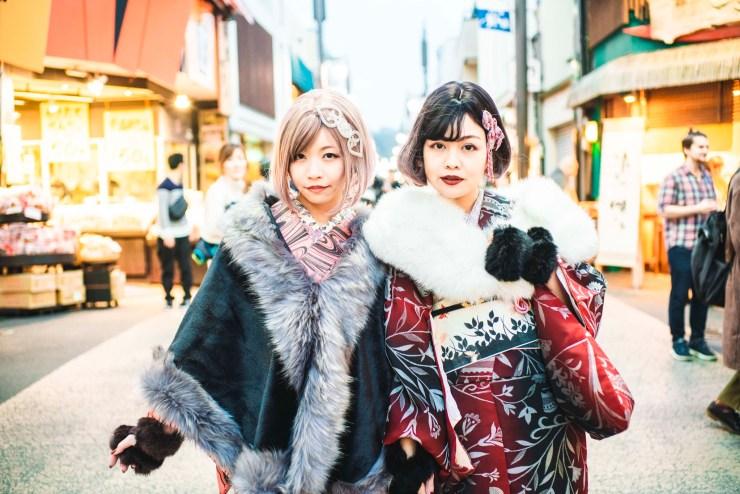 鎌倉着物レンタル 花のん 冬のスタイリング