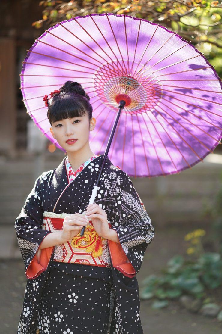 鎌倉花のん 振袖写真