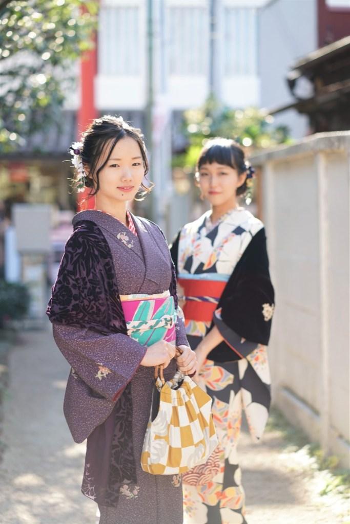 鎌倉花のん 秋の着物