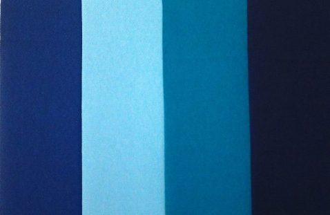 着物パーソナルカラー診断 ドレープ 青系の色