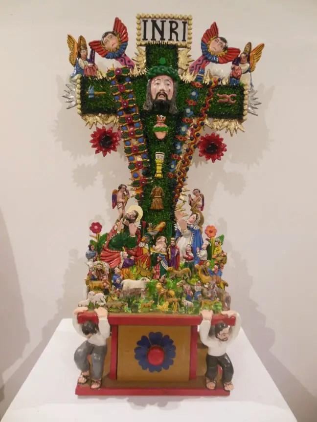Religieuze kunst in Ayacucho tijdens Semana Santa.