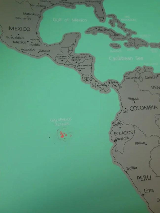 Krassen wereldkaart HEMA