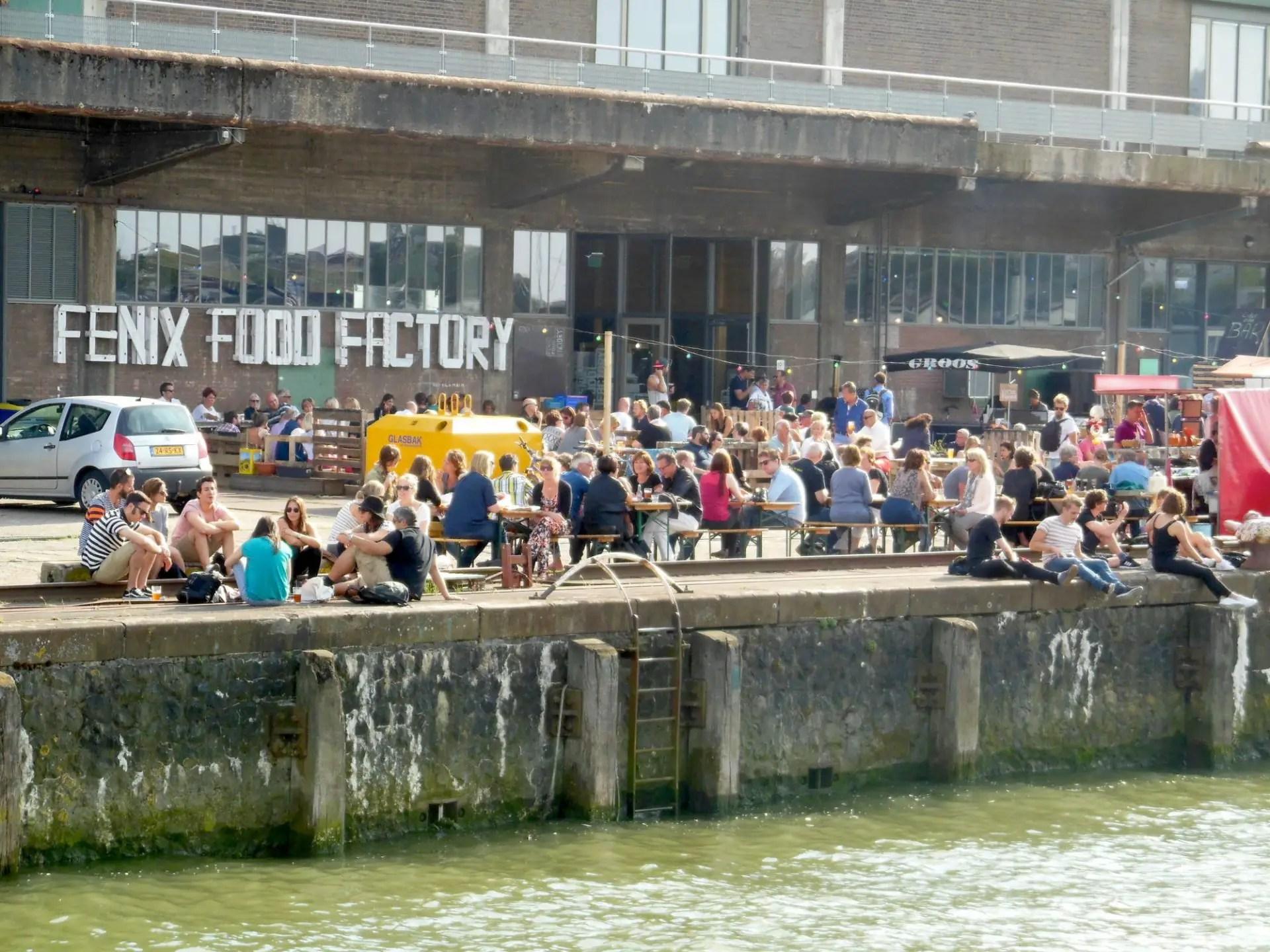 Aan het water Fenix Food Factory