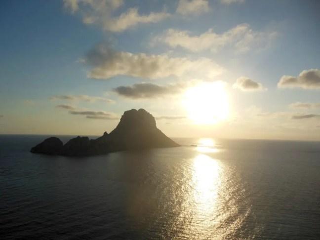 Zonsondergang bij Es Vedra