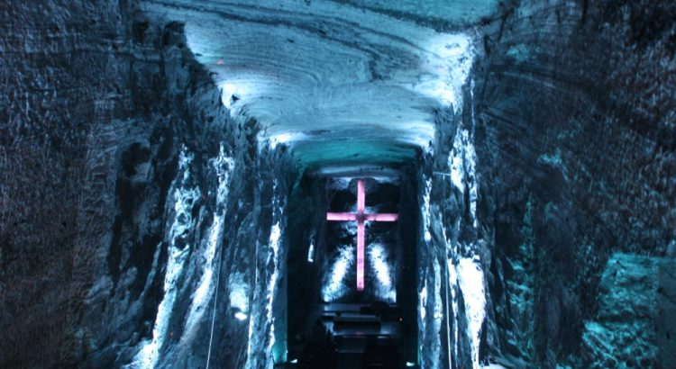 Catedral de Sal in Zipaquira in Colombia