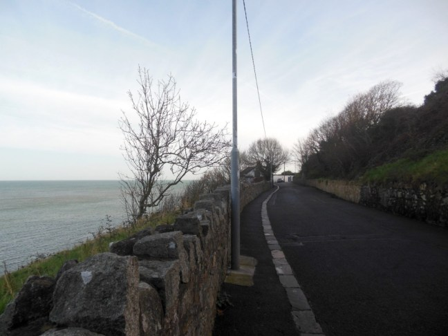 eerste stuk route Cliff Path Loop