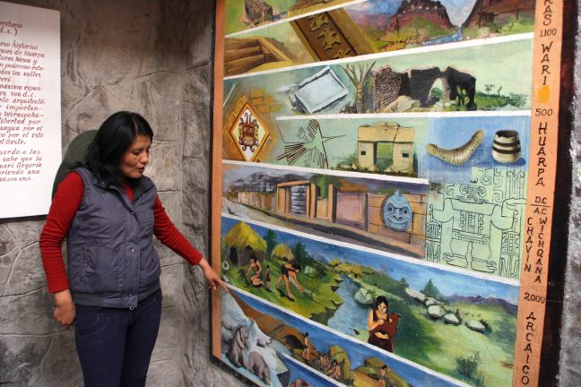 uitleg Gids Wari Peru