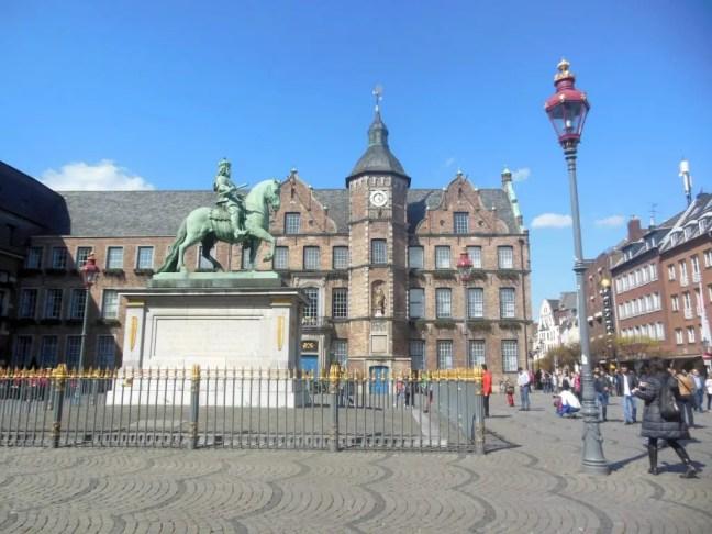 Rathaus Stadhuis Dusseldorf