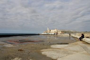 Regenachtige dag Malecon Havana