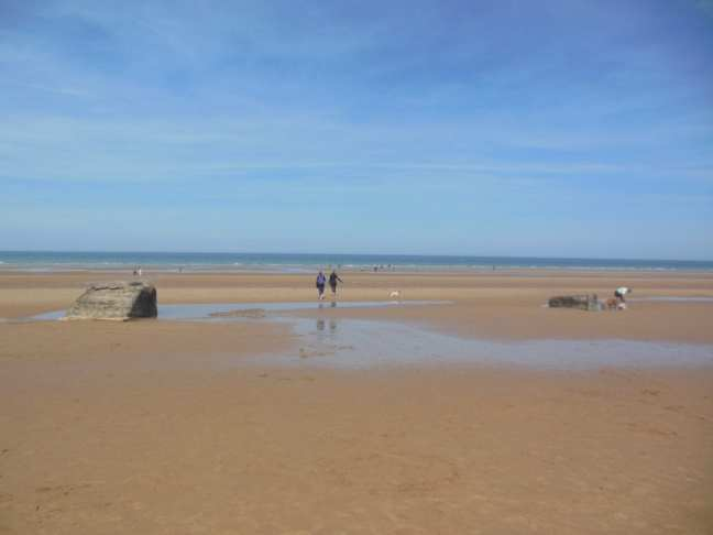 D-Day strand