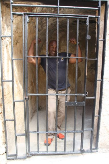demonstratie gevangenis castillo de morro