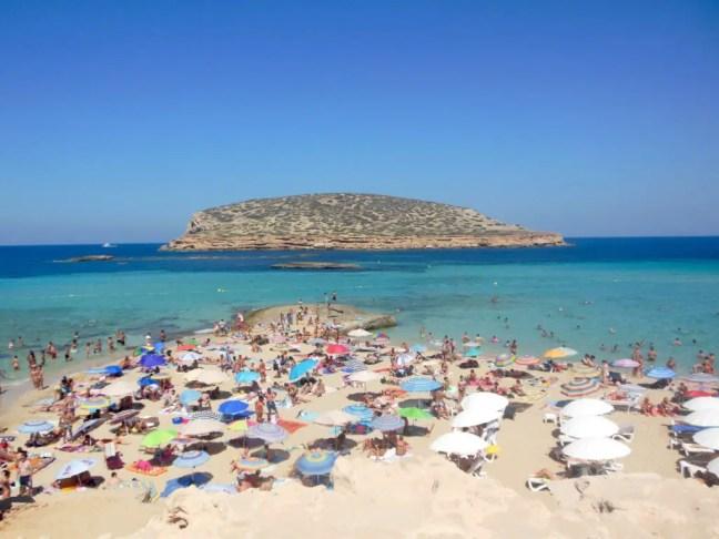 Strand Cala Comte Ibiza