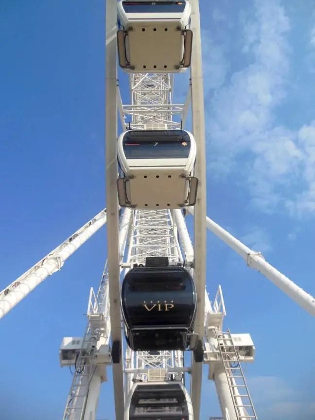 VIP kabine reuzenrad Skyview Scheveningen