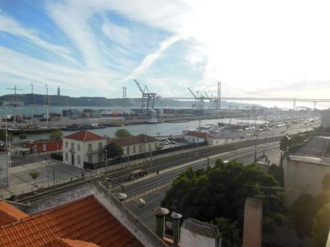 Uitzicht Le Chat Lisboa Lissabon
