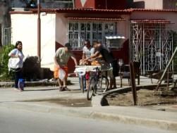 Holguín Cuba op straat