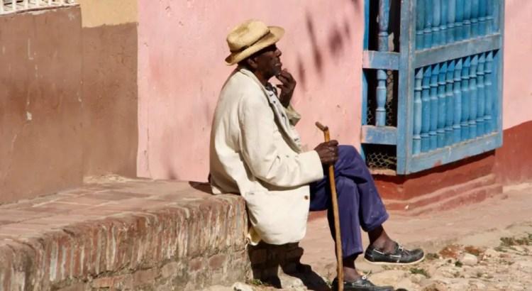 Cubaanse man in Trinidad