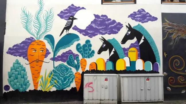 Blind Walls Gallery - Laura Lehtinen: Van een groentetuin naar een begraafplaats