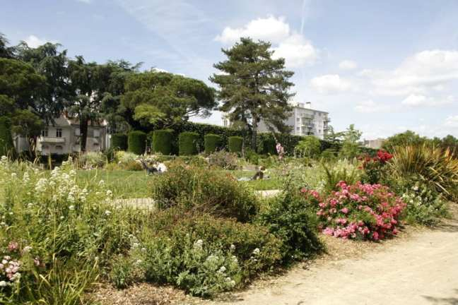 Maurice Schwob park: klein maar fijn