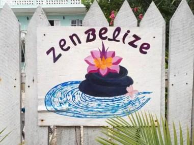 Zen Belize voor yoga op Ambergris Caye