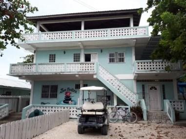 De locatie van Zen Belize.