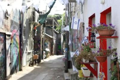 Hip Florentin in Tel Aviv.