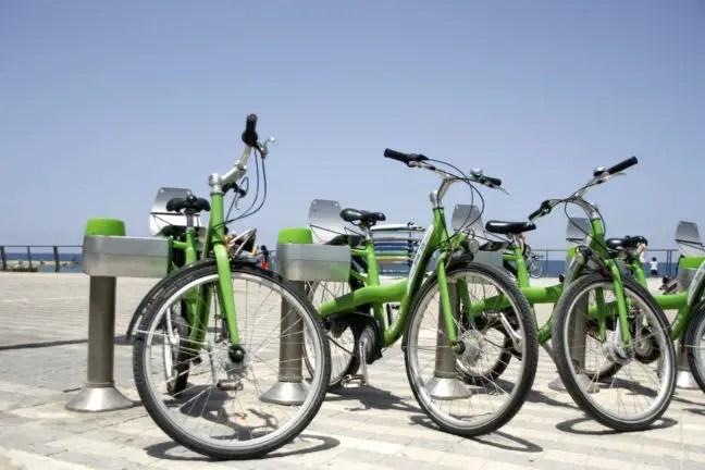 Tel-O-Fun fietsen in Tel Aviv.