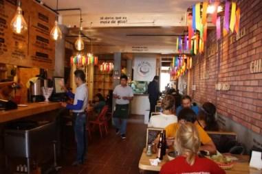 Restaurant El Caldero in San Cristóbal de las Casas.
