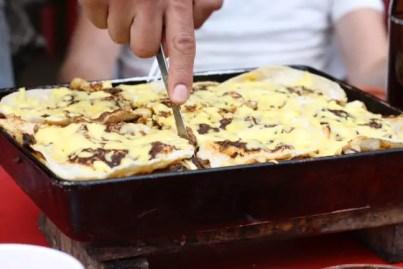De lasagne van Carlos.