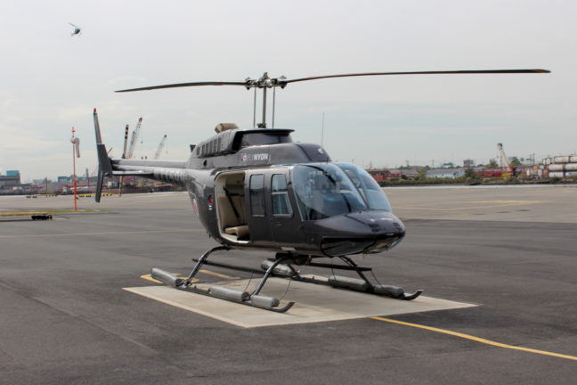 De doors-off helikopter van FlyNYON